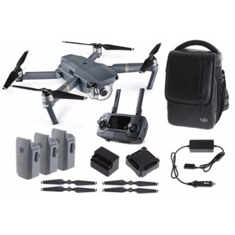 Harga (Ready Stock) DJI Mavic Pro Drone Fly More Combo (Official DJI Malaysia Warranty)