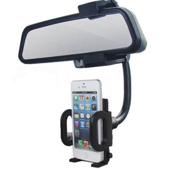 Rearview mirror mobile phone universal fixed clip side mirror Bracket