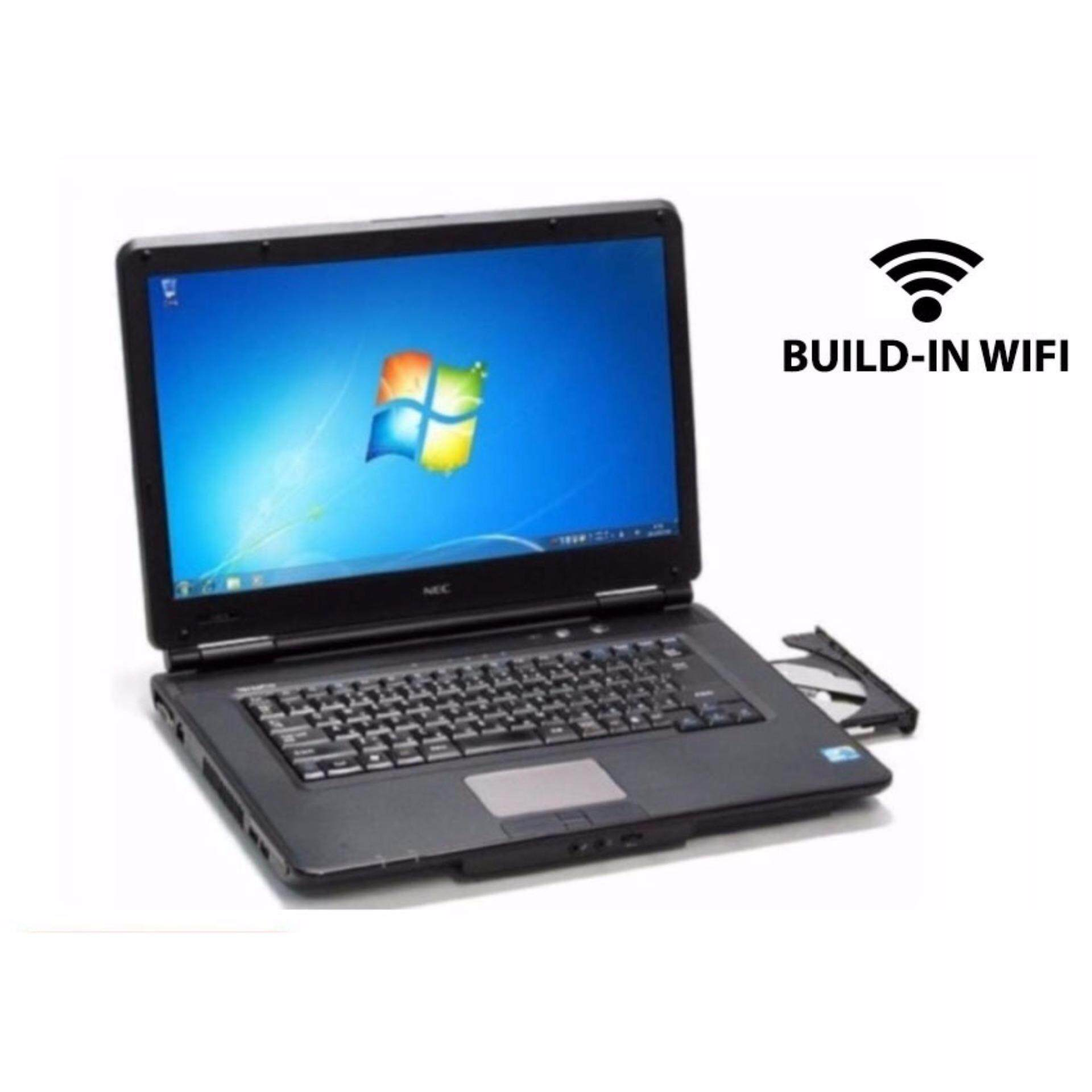 (REFURBISHED) Laptop NEC Intel Celeron 2GB RAM 250GB HDD DVD 15 NOTEBOOK Malaysia