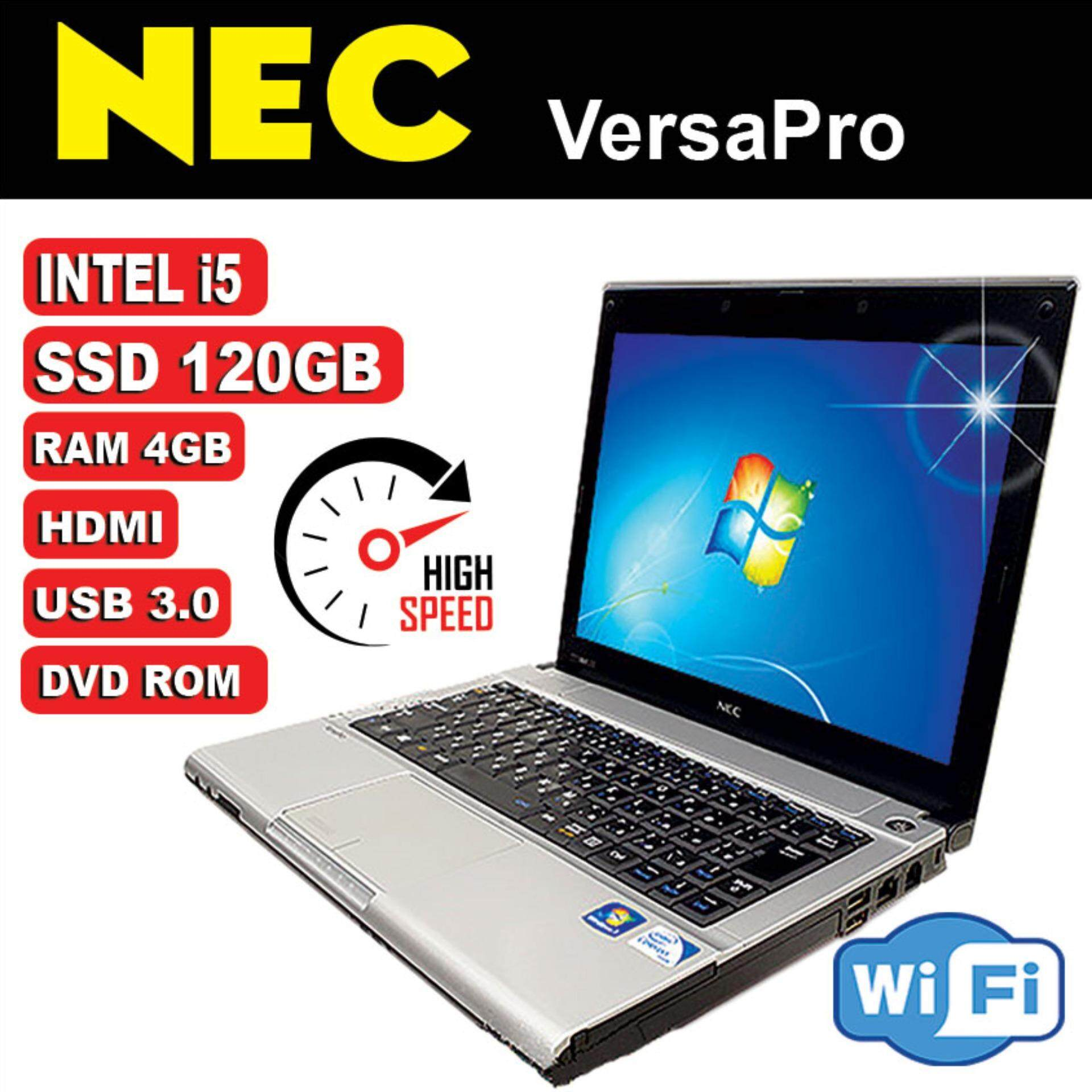 (REFURBISHED) Laptop NEC LIGHTWEIGHHT INTEL i5 4GB DDR3 12 120GB SSD Malaysia