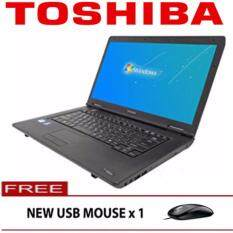 ( Refurbished ) Toshiba Satellite intel core i3 2GB 250GB dvdrw w7pro laptop notebook Malaysia