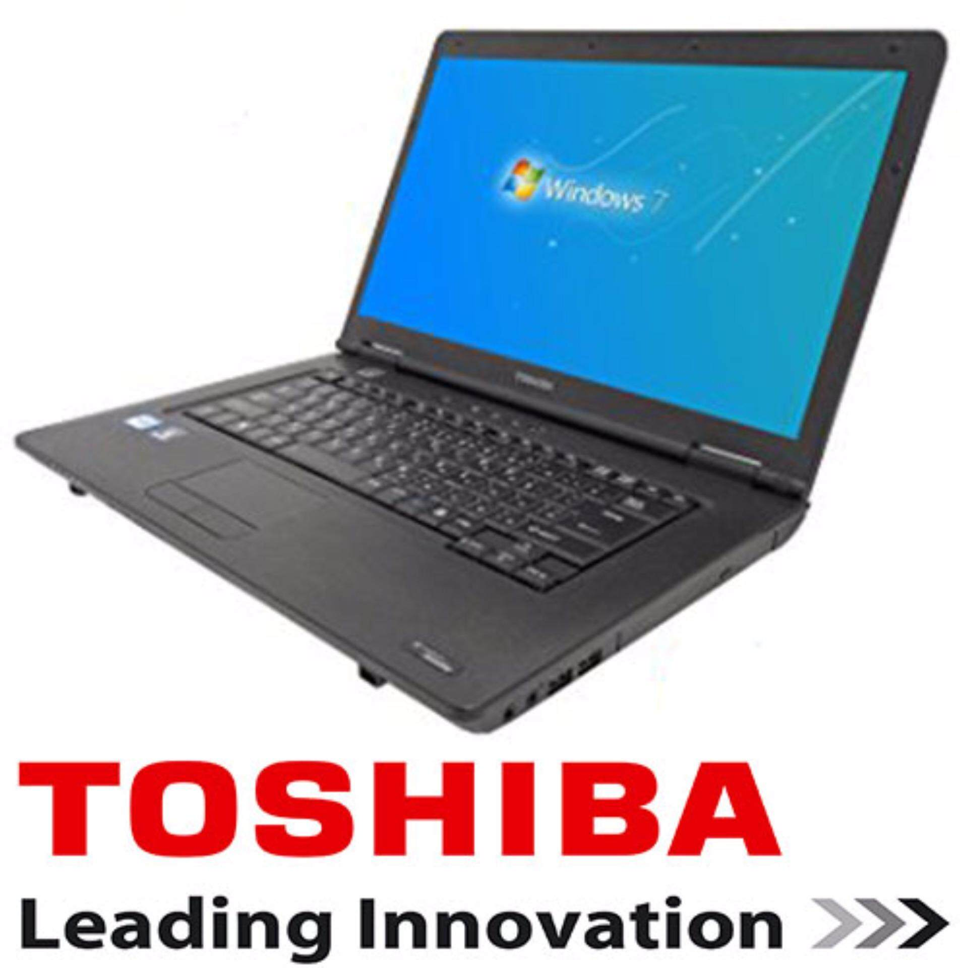 (REFURBISHED) Toshiba satellite Intel core i7 up to 3.40ghz 15.6 4GB RAM 320GB HDD NOTEBOOK LAPTOP Malaysia