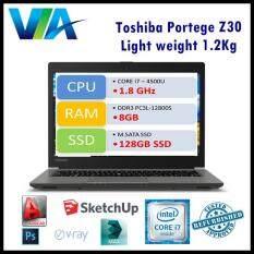 Refurbished Toshiba Z30 ~Core i7~8Gb~128Gb~Win10~1.3kg Malaysia