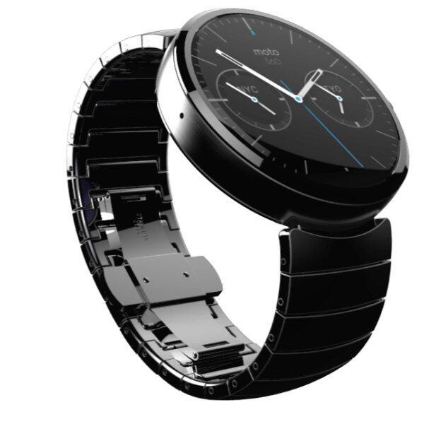 motorola watch. (refurbished)motorola moto 360 smart watch (steel strap)   lazada malaysia motorola a