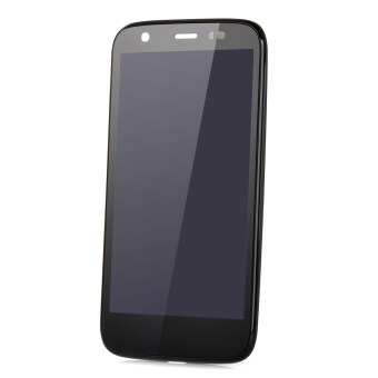 Replacement Glass + PVC LCD Touch Screen for Motorola Moto G /XT1032 (Black)
