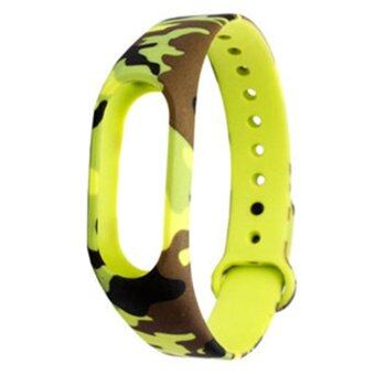 Harga Replacement TPU Wrist Band for Xiaomi MI Band 2 - Camouflage
