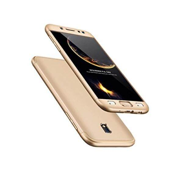 Samsung Galaxy J7 2017/Pro H?lle 360 Gold Grad Ultra d?nn Alles inklusive Schutz 3 in 1 PC Telefon cover case...