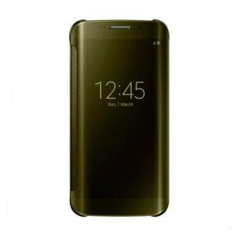 Samsung Galaxy S6 edge Plus 4G Plus Clear View Cover Gold