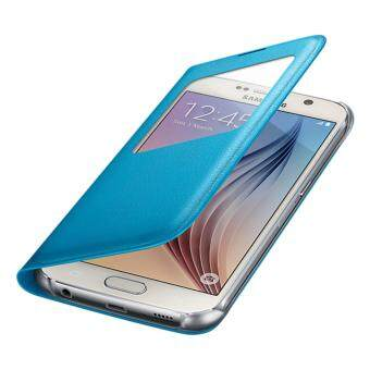 Harga Samsung Galaxy S6 S View Cover (Free 1 S6 Clear Cover)