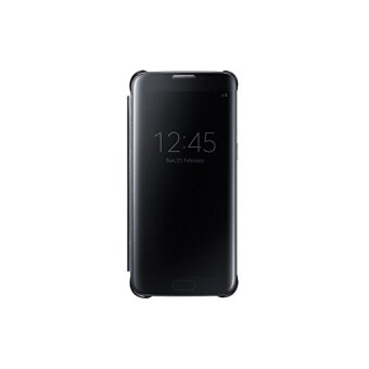Samsung Galaxy S7 Edge Official Genuine Samsung S7 Edge Clear ViewCover (EF-ZG935P) (Black)