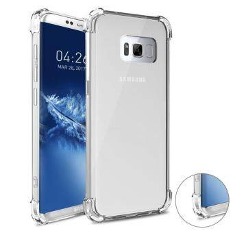 Harga Samsung Galaxy S8 Case, Gogerstar [Drop Cushion] [Crystal Clear]Soft Slim TPU Protective Case Cover for Samsung Galaxy S8