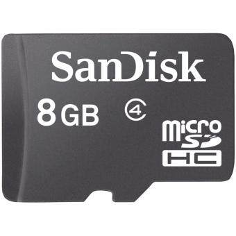 SanDisk MicroSDHC 8GB Class 4 Micro SD Memory Card