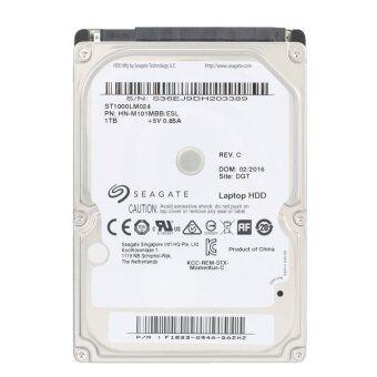 Seagate 1TB Laptop HDD Internal Notebook Hard Disk Drive 7mm5400RPM SATA 6Gb/s 128MB Cache