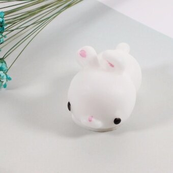 Silicone Squishy Toy Fidget Hand Rising Animal Squeeze Pinch Toy - Cute Rabbit, Size: 4.5 x 2.7cm