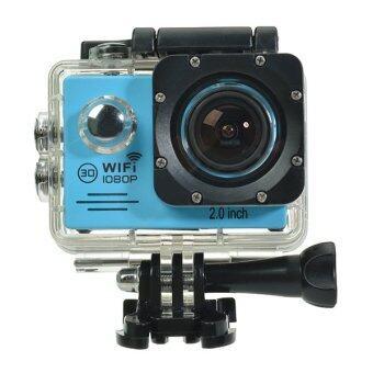 SJ7000 Action Camera 2-inch LCD Wifi Waterproof Sports Cam Blue