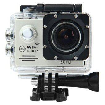 SJ7000 Action Camera 2-inch LCD Wifi Waterproof Sports Cam Silver