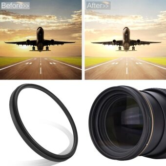 Harga Slim Clear UV Lens Filter Polarizer Lens Kit Protector (46mm)