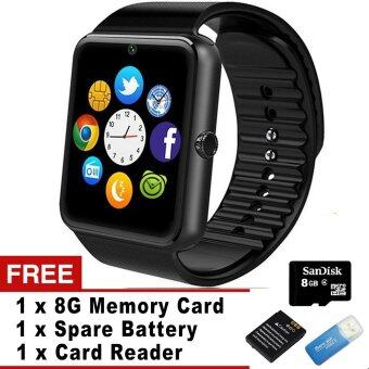 Smart Watch GT08 Clock Sync Notifier Support Sim Card Bluetooth Connectivity iphone Android ...