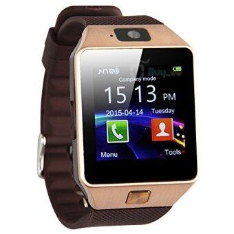 Harga Smart Watches DZ09 Smart Watch for Phone/Camera/Bluetooth/MMC/TouchScreen (Gold)