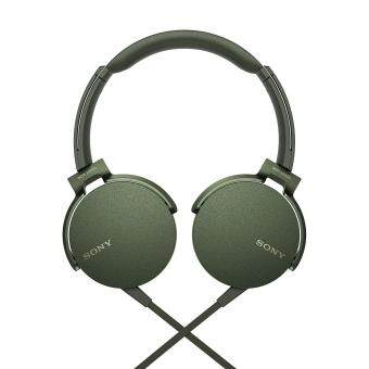 Sony MDR-XB550AP/G EXTRA BASS Headphones MDR-XB550AP (Original) from Sony Malaysia - Army Green Colour