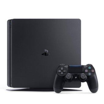 Harga Sony PlayStation 4 PS4 Slim 500GB Console Black 2Year Sony MalaysiaWarranty Free PowerBank
