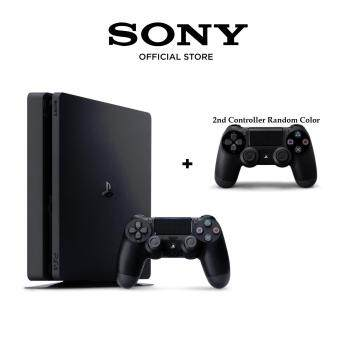 Harga Sony PS4 Slim / PlayStation Slim 1TB (Black) with Extra Controller [1 Year Sony Warranty] (M'sia)