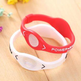 Harga Sports Power Balance Energy Health Bracelet Silicone Code RandomColor