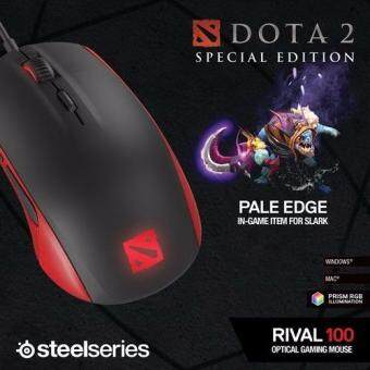 Harga SteelSeries RIVAL 100 DOTA 2 Edition ( Free In-Game Item)