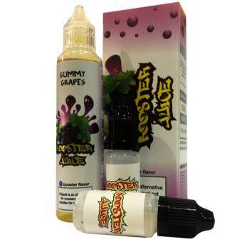 Harga Super Fast Marketing - Booster Juice Yummy Grapes 55ml + CoolingBooster E-liquid For Vape And Electronic Cigarettes