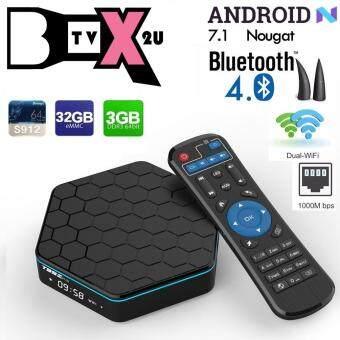 T95Z Plus 3GB 32GB Android 7.1 Nougat Smart TV Box (Pre-installed Malaysian Apps & KODI 17.6)