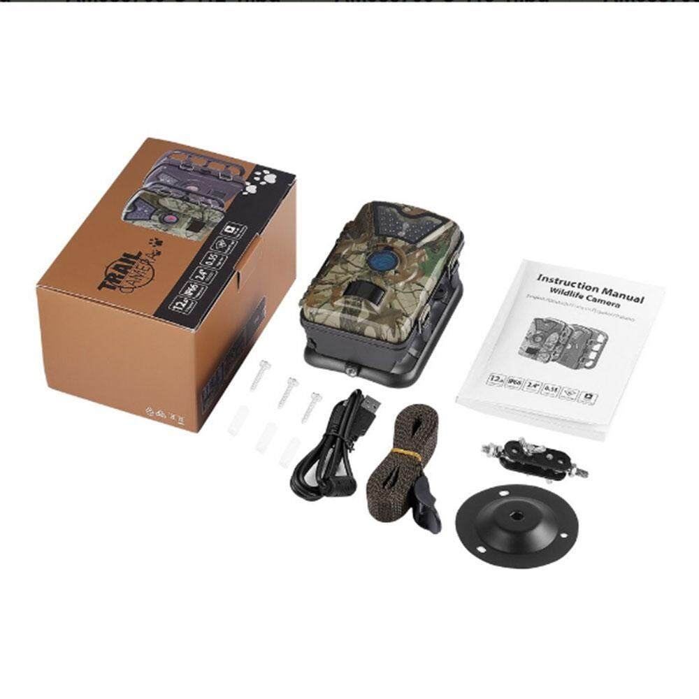 Teekeer 1080P Trail Camera Wildlife Game Camera For Wildlife Monitoring And Home Security,battery Is Not Included – intl