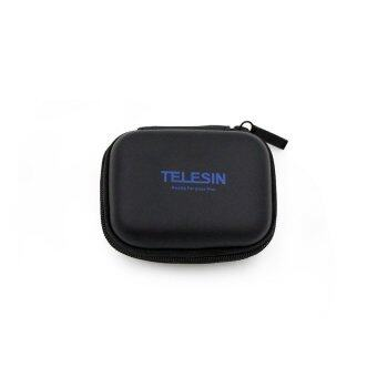 TELESIN Portable Mini Pocket Carry Case for Gopro 3 / 3+/ 4 ActionCameras (BLACK)