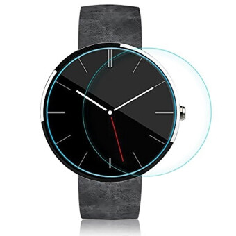 Tempered Glass Screen Protector Cover Film for Motorola Moto 360Smart Watch 46MM