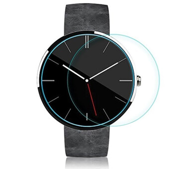 Tempered Glass Screen Protector Skin for Motorola Moto 360 Smart Watch 42mm