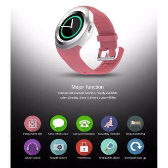 TOPWRX Y1 Round Bluetooth 3.0 Wearable Smart watch Men WomenClassical Business Smartwatch for Android - 3
