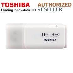 Toshiba 16GB USB 2.0 TransMemory Hayabusa Flash Drive (White) Original Malaysia