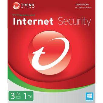 Trend Micro Internet Security 1 Year | 3 PC (FOC)