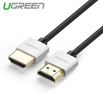 Harga UGREEN 1.5m High Speed HDMI Cable with Ethernet Gold PlatedAluminum Alloy Case Support 4K*2K and 3D(Silver Grey)