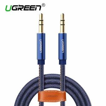Harga UGREEN 3.5mm to 3.5 mm Jack Denim Audio Cable Stereo Aux Cord forHeadphones Cars Phones - 2m