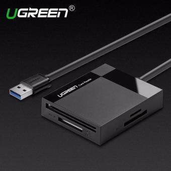 Ugreen All in 1 USB 3.0 Card Reader Super Speed TF CF MS Micro SDCard Reader Multi Smart Memory for Computer USB Card Reader- 1.5mCable