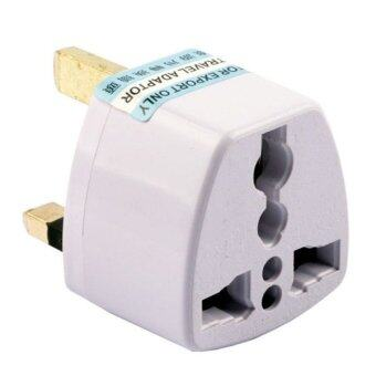 Uk 3 Pin To Us Eu Au 2 Pin Plug Travel Adapter Lazada