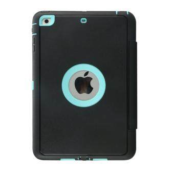 Ultra Slim Smart Magnetic Wake/Sleep Flip Pad Cover + TranslucentProtect Case for Apple iPad Mini / Mini 2 / Mini 3