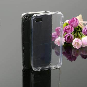 Harga Ultra Slim Thin Silicone TPU Transparent Soft Clear Phone CoverCase For Apple iPhone 4 / 4s Phone Cases