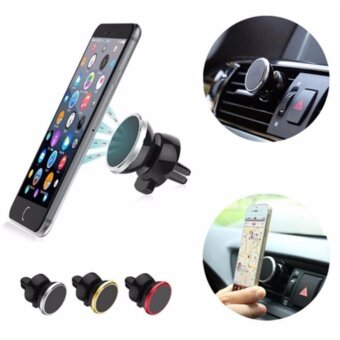 Harga Universal 360 Degree Magnetic Car Mobile Phone Holder Air VentMount Magnet Stands Car Phone Mount Suitable For All Phone