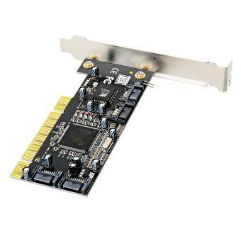 Upgrade PCI to SATA 4-Port 3114 Raid Card - Black Malaysia