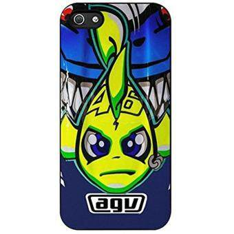 Harga Valentino rossi helmet artwork For Iphone 5 5s Case