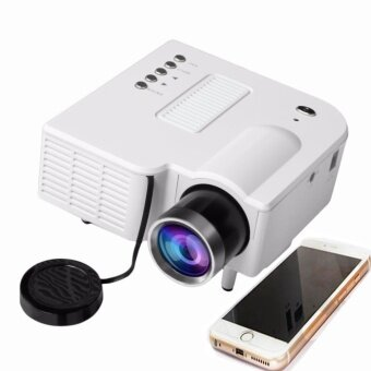 Vanpie portable lcd projector mini hd 1080p projector home for Best mini projector for powerpoint presentations