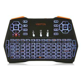 VIBOTON i8 Plus 2.4G Wireless Keyboard Fly Air Mouse Touchpad Backlight Version Malaysia