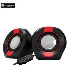 Vinnfier Icon 202 2.0 USB Powered Speaker (Black/Red) Malaysia