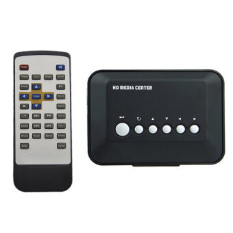 Harga Vococal Mini 720P Multiple USB Full HD HDD Media Player w/ RemoteControl (Black)